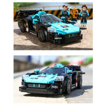 333pcs Racing Car Building Blocks Set Toys Bricks Race Vehicle Model Gift - $25.23