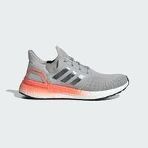 Adidas Performance Women's Grey Metallic Coral Ultraboost 20 Shoes EG0719 - $228.82