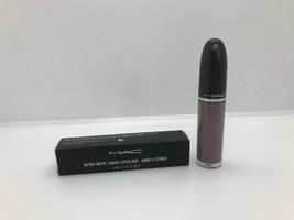 MAC LIP GLOSS SIMPLY SMOKED Retro Matte Liquid Lipcolour AUTHENTIC & BOXED - $15.99
