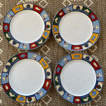 "Studio Nova Nantucket Salad Plates Set of 4 HG201 Mint Unused 8.25"" Ocean Themed - $27.96"