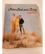 Vintage 1965 The Peter Paul And Mary Song Book Sheet Music Pepamar Corp ... - $13.85