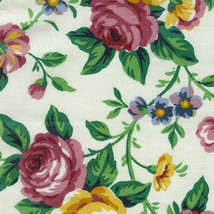 Longaberger Small Over the Edge Recipe Liner ~ Garden Splendor Fabric ~ - $16.60