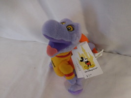 Walt Disney World Figment Mini Bean Bag-Beanie Plush new tag - $17.02