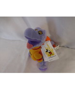 Walt Disney World Figment Mini Bean Bag-Beanie Plush new tag - $17.02