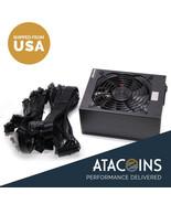 New 1600W ATX Gold Mining Power Supply SATA IDE 6 GPU suits for ETH BTC ... - $257.39