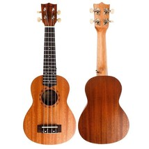 Ukulele Soprano Handmade Mahogany Body Guitar 4 String For Beginners Ins... - $40.58