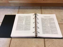 KJV Loose-Leaf Wide Margin Bible in 5 Ring Binder by  Hendrickson Publis... - $64.49