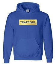 CC Bryson Tiller Trapsoul Hoodie Royal Blue (Gold Print) - $29.99