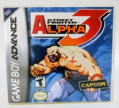 Street Fighter Alpha 3 GBA Custom Replacement CASE (*NO GAME*) A3 - $5.94