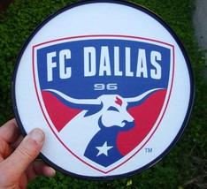 FC DALLAS team logo round poster - $14.50