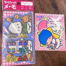 Sanrio Vintage Showa/Retro/1968 Sanrio Kikilala Pochacco Seal/Memo/Nosta... - $65.90