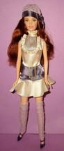 Barbie Fashion Fever 2004 Drew Lara Lace Bib Dress Mattel Doll OOAK Play... - $30.00