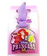 Run Disney Princess Half Marathon 2016 Little Mermaid Ariel Flounder 5K Pin - $15.95