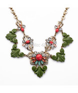 Major Suit New Design Jewelry Retro All-match Flowers Fall New Necklac - $28.53