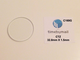 For CITIZEN Watch Glass Crystal 32.8mm X 1.55mm Replacement Spare Part C... - $19.47
