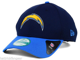 San Diego Chargers New Era 9Forty Fundamental Tech NFL Team Logo Cap Hat OSFM - $20.85