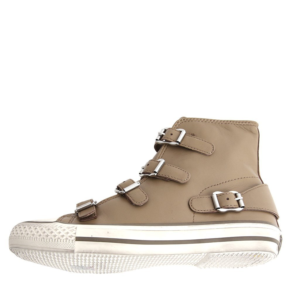 Ash Women's Fashion Virgin Sneakers 350142-TUP Taupe SZ 35