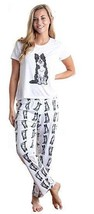 Dog Border Collie pajama set with pants for women - $35.00