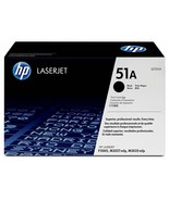 HP 51A Q7551A Black LaserJet Toner Cartridge For CC478AR, CC479AR, CC476AR - $168.25