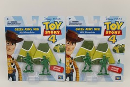 Toy Story 4 Green Army Men With Working Parachutes New Disney Pixar Movie - $12.37