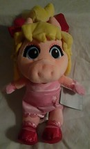 Disney The Muppets Muppet Babies Miss Piggy Exclusive 14-Inch Small Plush. NEW - $16.82