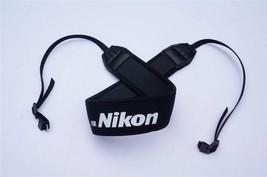 Good Quality Cotton Neck Shoulder Black Belt Flexible Camera Strap for DSLR Sony - $11.00
