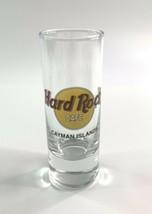 "Hard Rock Cafe Cayman Islands 4"" SHOT GLASS Classic HRC Logo BLACK Text ... - $17.58"