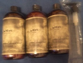 (LOT OF 3) WEN By Chaz Dean Sweet Almond Mint Cleansing Conditioner 16 o... - $68.19