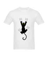 Funny T-Shirts Cat Claw - $23.50
