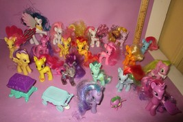 My Little Pony MLP FIM G4 AUTHENTIC Lot Cherry Sunset Luna Water Cuties ... - $40.00