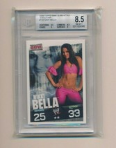 2009 Topps WWE Slam Attax RC Rookie Evolution Nikki Bella BGS 8.5 - $50.00