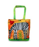 Bright Bags Zebra Large Stylish/Colorful Tote Bag - $36.79