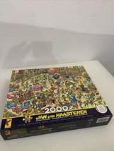 2000 pieces Ceaco Puzzle Jan Van Haasteren Crowd Pleasers + ++ Poster - $36.64
