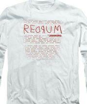 The Shining t-shirt retro 80's horror movie long sleeve graphic tee WBM563 image 3