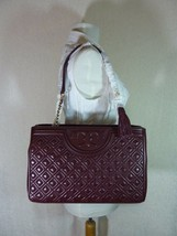 NWT Tory Burch Port Royal Fleming Open Shoulder Tote - $443.50