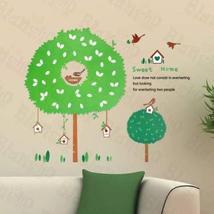 Hemu Living Room Bedroom Decorative Vinyl Mural Art The House Of Bird Large Wall - $7.91
