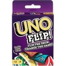 Mattel UNO Flip GDR44 Double Sided Card Game for 2-10 Players Ages 7Y+ - $5.99