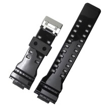 16mm shining repalcement watch strap band fits Casio g-shock ga-100 ga-3... - $19.99