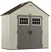 Suncast BMS8400D Tremont Resin Storage Shed, 4' 3/4' By 8' 4-1/2' - $1,788.19