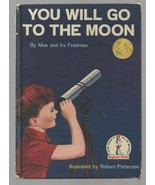 Beginner Books YOU WILL GO TO THE MOON    ex++ 1959 Book Club - $31.24