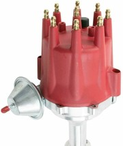 Pro Series R2R Distributor for Buick, Range Rover, V8 Engine Red Cap image 2