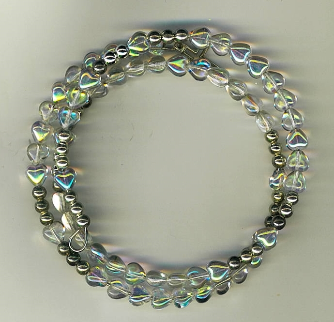 Primary image for Bracelet Rosary - Clear Tear Drop Beads