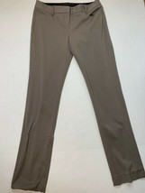 Express Columnist Dress Pants Barely Bootcut Light Brown Women's Size 0 ... - $17.81