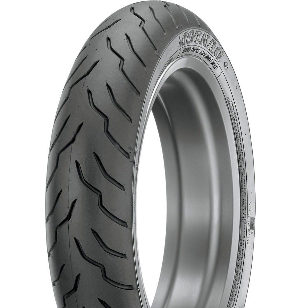 New Dunlop American Elite Blackwall 130/80B-17 Front Tire