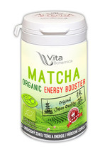 Organic Vita Bohemica Matcha Energy booster 80 capsules Camelia extract ... - $31.80