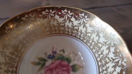 Rare Aynsley Flower Teacup Great Condition image 4