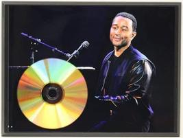 John Legend 24Kt Gold CD Disc Display Award Quality - Limited Edition - $56.95