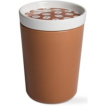 Tag Ceramic Coffee Bean Canister Container Storage Jar with Air Tight Li... - $11.98
