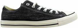 Converse Chuck Taylor Ox Black Egret/Black Denim 147037F Men's Size 10.5 - $55.00