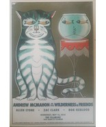 Mint Andrew McMahon Fillmore Poster 2018 Someting Corporate Jacks Mannequin - $25.99